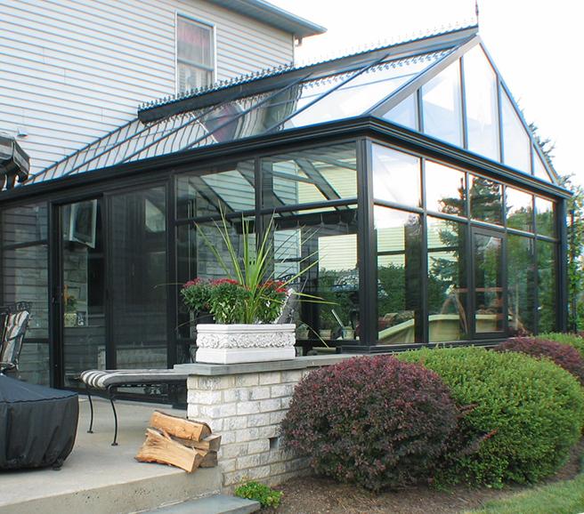 Алюминиевая солнечная комната с закаленным стеклом для веранды