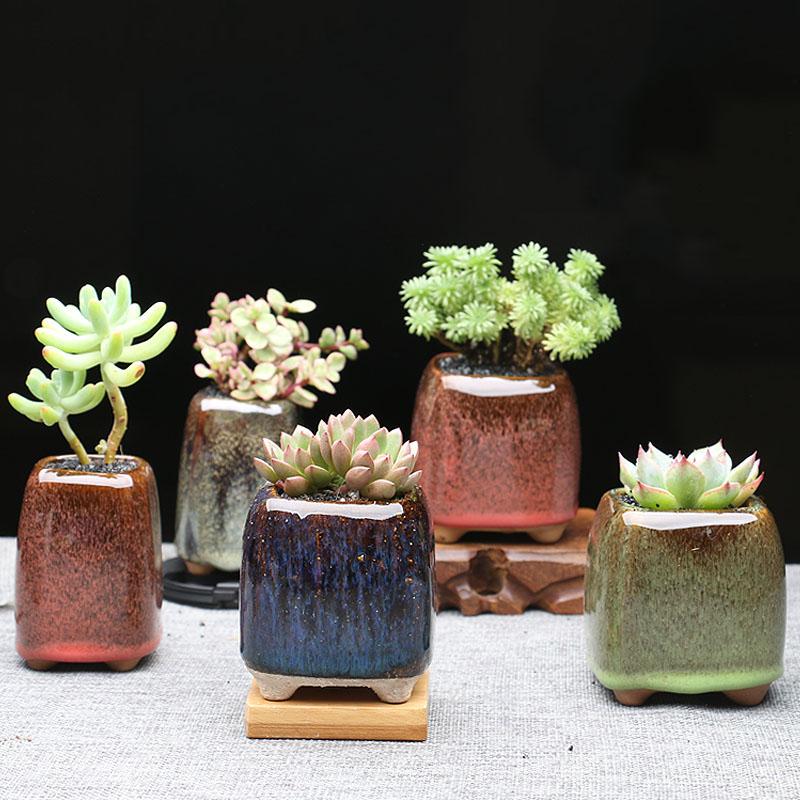 online kaufen gro handel mini ton blument pfe aus china mini ton blument pfe gro h ndler. Black Bedroom Furniture Sets. Home Design Ideas