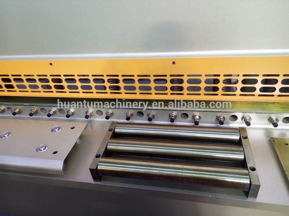 Europe standard hydraulic Guillotine Cutter CNC Shearing Guillotine Machine