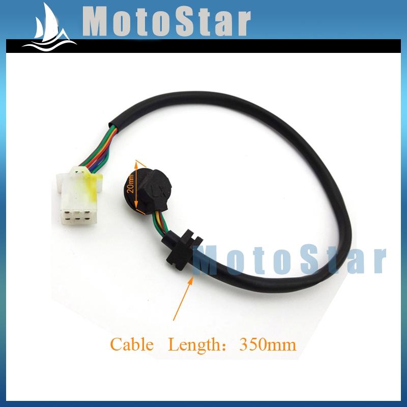 Atv передач положения передачи индикатор 5 провод Pin для китайского Go Kart четырехъядерные 4 уилер мотоцикл грязь велосипед ямы
