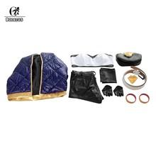 Женский костюм для косплея ROLECOS KDA Akali, костюм lol akali, костюм для косплея LOL K/DA, пальто, брюки, перчатки, сумка для Хэллоуина(Китай)
