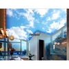 Blue sky stretch ceiling film