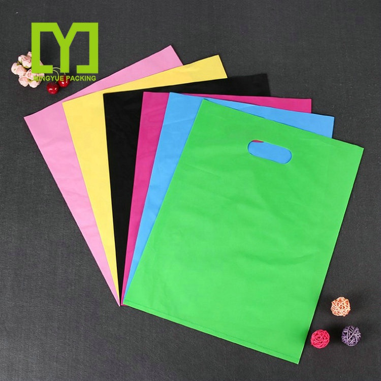 Gift Bags With Handles Boutique Carrier Shopping Bags Plastic Pouches