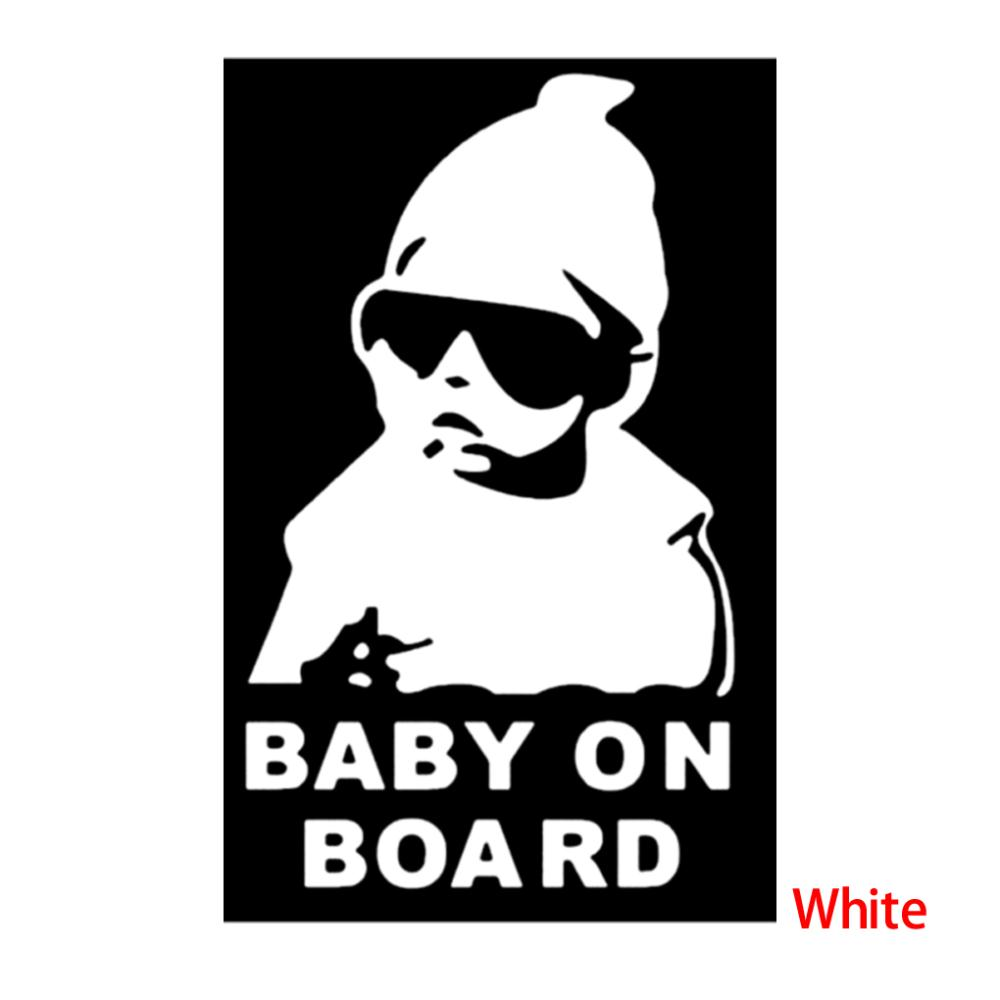 super cool kids baby on board carlos hangover funny car vinyl sticker decal adhesive sticker. Black Bedroom Furniture Sets. Home Design Ideas