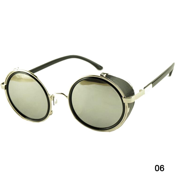 Acheter Gros Été Style Vintage Ronde Unisexe Lunettes De Mode ... 64772f97df61
