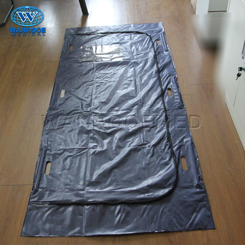GA403A Heavy Duty Medical Funeral Biodegradable PVC Corpse Dead Body Bag For Cadaver
