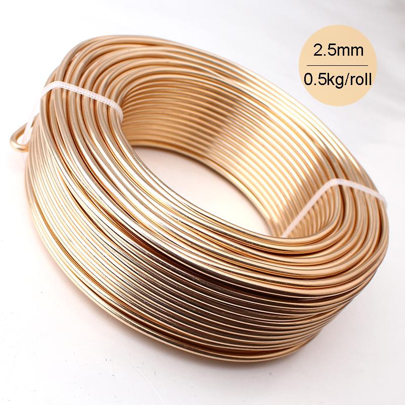 Wholesale 0.5kg Anodized Artistic Aluminum Craft Wire 2 ...