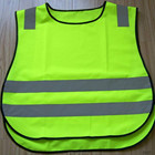 Vest High Visibility Vest High Visibility Pullover Child Reflective Vest With Elastic On Both Side