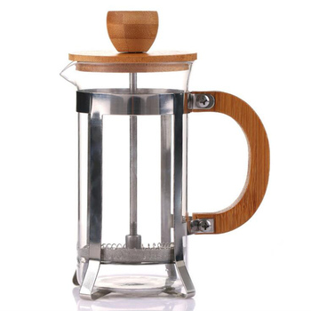 2019 Amazon hot sale New Products Unique Bamboo French Press Coffee and tea maker for home office