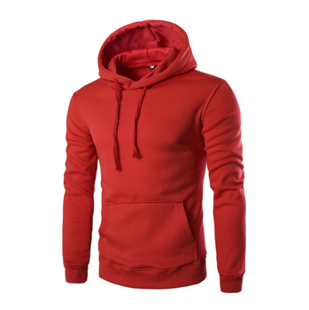 Low MOQ Pullover Men Spring Blank Sweatshirt Good Quality Men Hoodies
