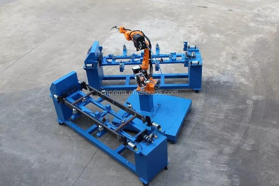 6 Axis MIG Welding machine Welding Robot For Storage Goods Rack / Robotic Arm for Shelf