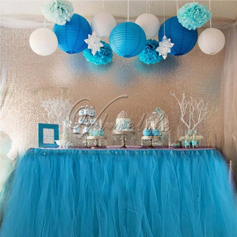 2019 Wholesale New Tulle Tutu Table Skirt Tableware
