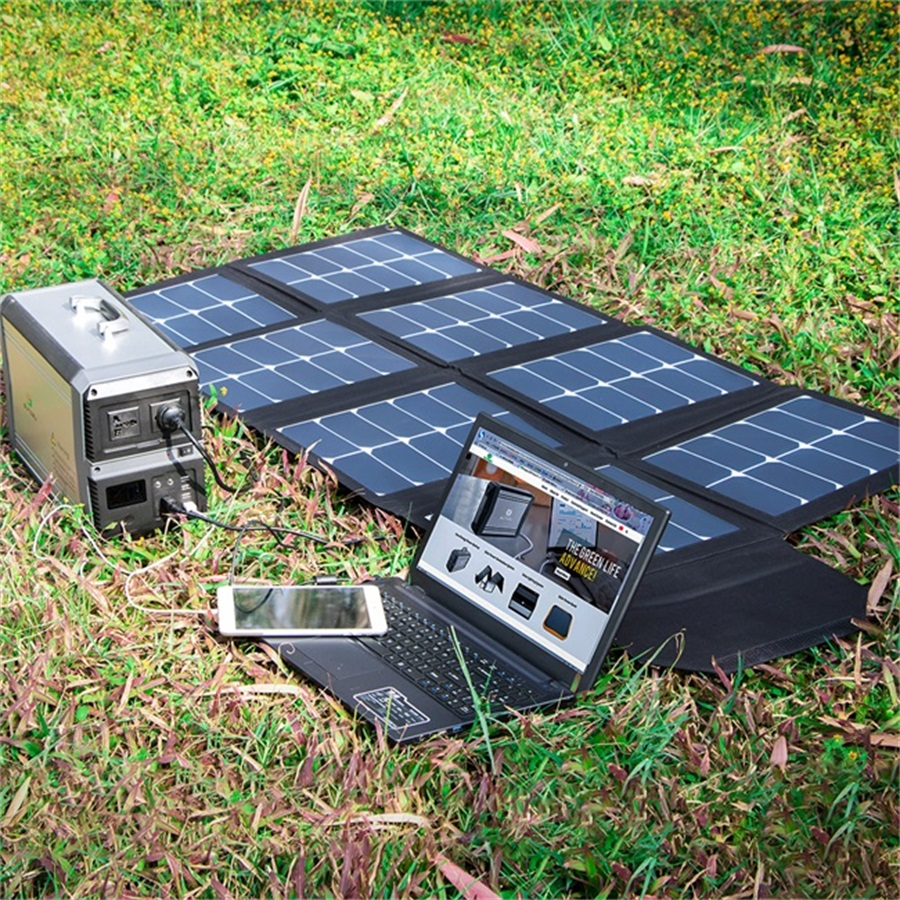 100 Вт Солнечная энергия складная солнечная панель