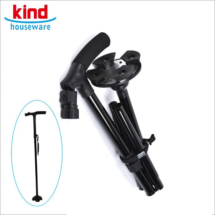 All-season performance for scandinavian old people medical foldable walking stick