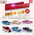 Maisto 1 64 small car Original Simulation alloy car model 1pcs Fast and Furious kids toys