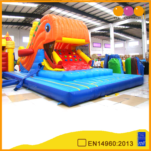 AOQI factory price top quality commercial use Moving Fish Slide