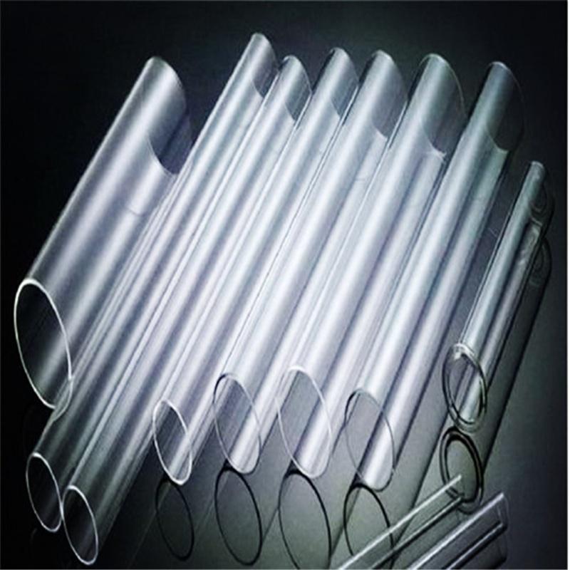 Кварцевая стеклянная трубка высокой чистоты диаметром 10,50 мм для производства нагревательных элементов