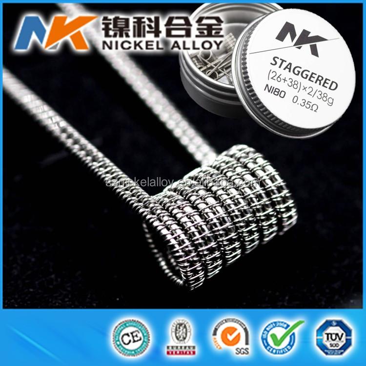 NK brand e cig prebuilt alien coil fused clapton vape coil for atomizer