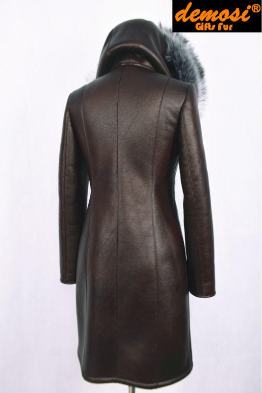 Заводские поставщик замши женщины нью-зима 2015 мода лиса шубу пояса молния тонкий большой размер морозостойкость