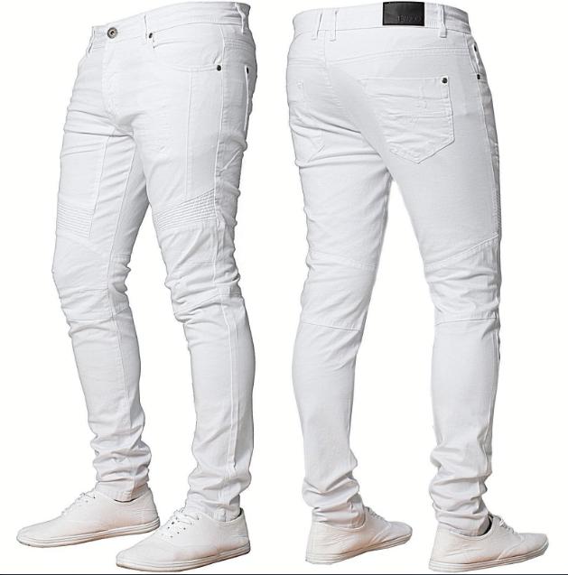 Pantalones Vaqueros Ajustados Para Hombre Jovenes Blancos A La Moda De Verano Buy Jeans De Moda De Hombre Blancos Jovenes Verano Vaqueros Skinny Product On Alibaba Com