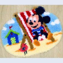 Diy tapijt подушка ручной работы коврик защелкивающийся крючок Набор ковриков с мультяшным рисунком vloerklee foamiran для рукодельных наборов 3d ковер(Китай)