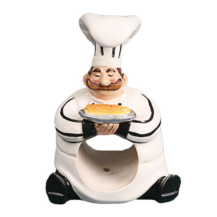 Fat Resin Chef Man Napkin Holder For Kitchen Decor Buy Design Product On Alibaba Com