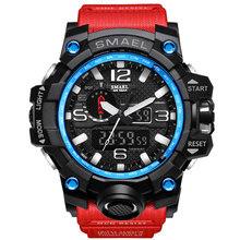 Топ бренд спортивные часы для мужчин 2020 часы мужские СВЕТОДИОДНЫЕ Цифровые кварцевые наручные часы мужские модные роскошные Цифровые часы ...(Китай)
