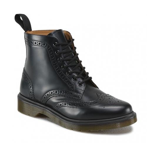 100% Original Boots AFFLECK BLACK SMOOTH Women's Boots 7