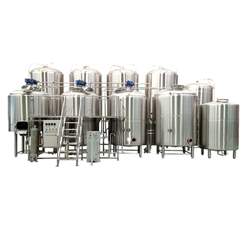 1000liter Stainless Steel Four Vessel Direct Fire Heating Craft Micro Beer Brewing Equipment