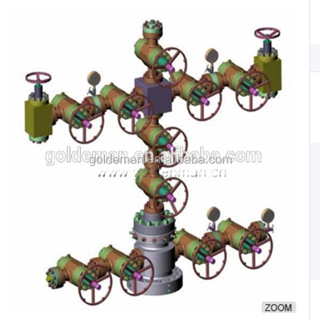 API 6A Wellhead Equipment X-Mas Tree