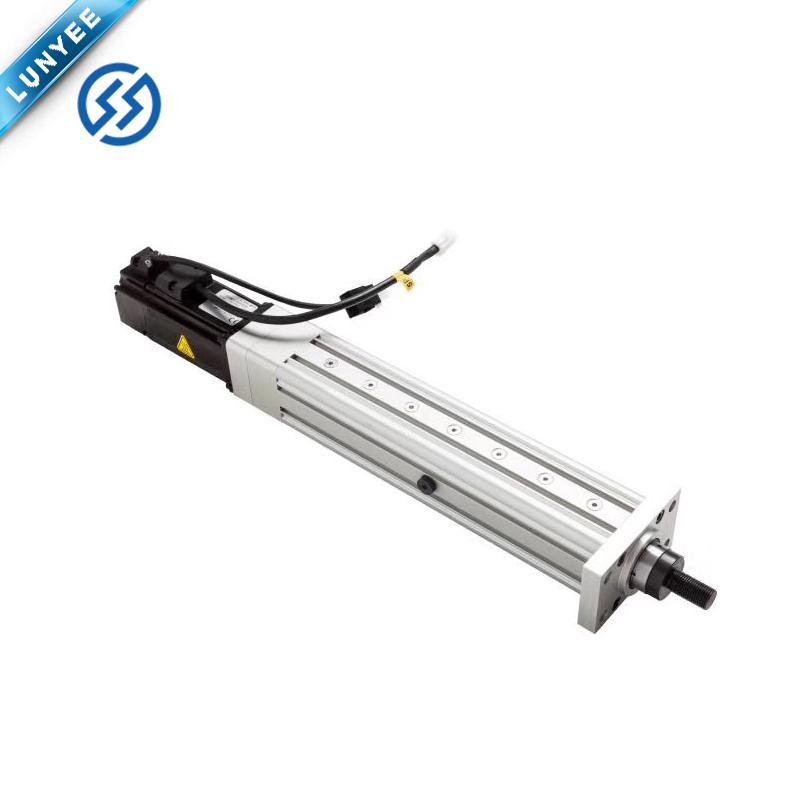Линейный серводвигатель с большой нагрузкой, Электрический цилиндр для упаковочной машины