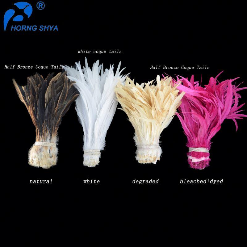 Оптовая продажа, окрашенные различные цвета, длинные седловые хвосты гризли 4-18 дюймов, дешевое натуральное петушиное перо