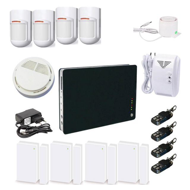 Black/White Option House Wireless GSM Alarm With Multi-language Manual,Android/IOS Control G1