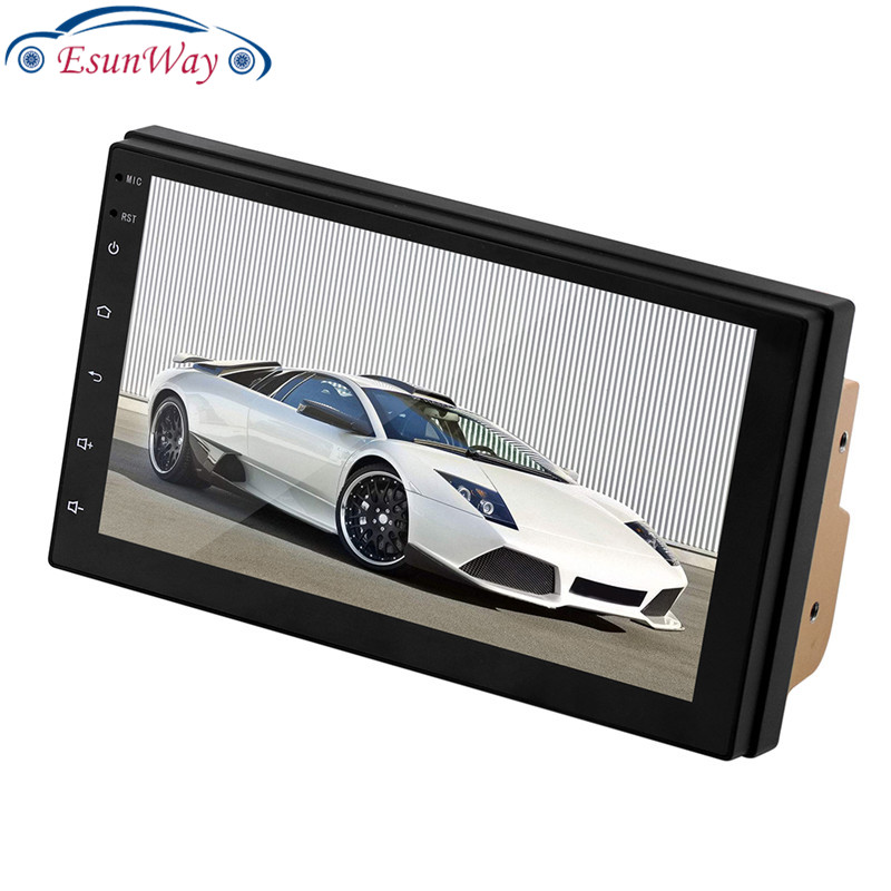 9217 7 дюймов 2.5D HD экран пресс Android монитор автомобильный стерео Mp5 плеер Gps навигация авто радио мультимедиа головное устройство радио видео
