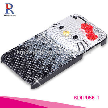 rhinestone gifts hello kitty designed phone case for 5G