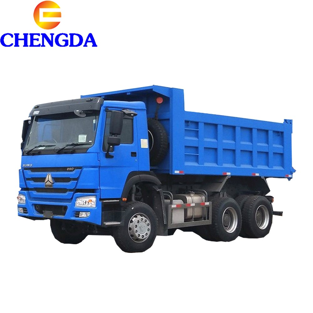 SINOTRUK 6x4 18 17 Cubic Meters Tipper Howo Dump Truck in Guinea
