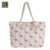 JAKIJAYI Wholesale Lager Capacity Flamingos Polyester Travel canvas Beach Tote Bag