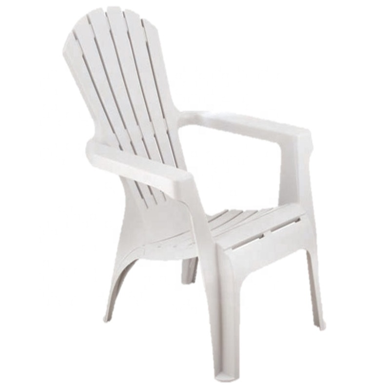 Morezhome durable colorful wholesale outdoor furniture beach garden recycled stackable plastic adirondack chair for adults