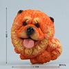 Orange lion dog
