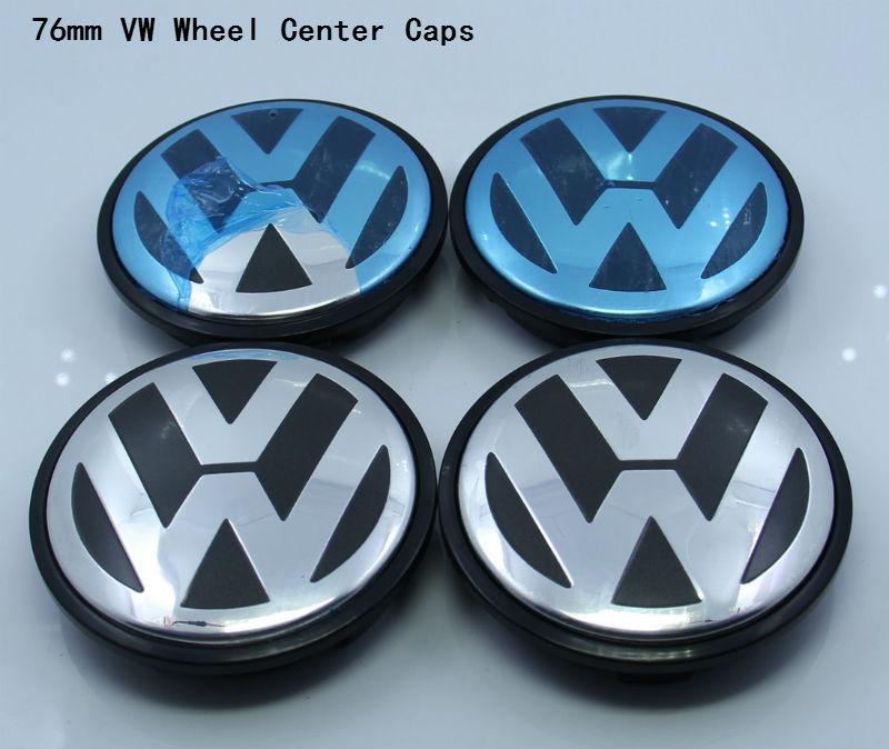 4 шт 76 мм VW колесо центр hub кепка крышка комплект Volkswagen LOGO VW 7L6 601 149