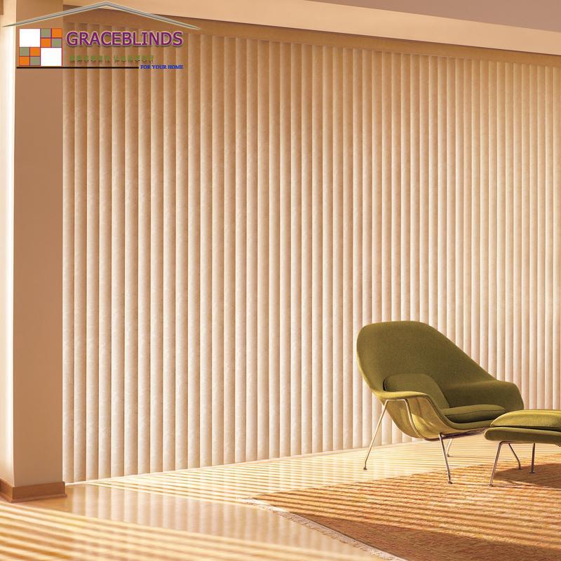 Vertical Curtain Processing Custom Solid Wood Venetian