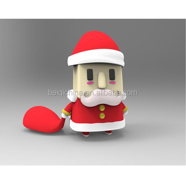 Father Christmas shaped usb flash drive, animal shape usb flash drive customized - USBSKY | USBSKY.NET