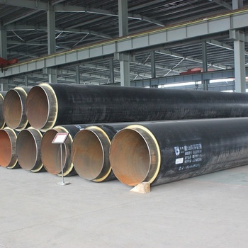 Sample Large diameter hdpe 80 grade pipe directly buried insulated district heating steel pipe