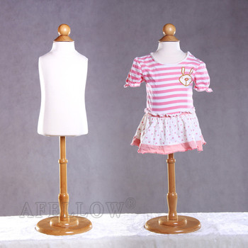 CH06M Hot New sale white kids child mannequin dress form