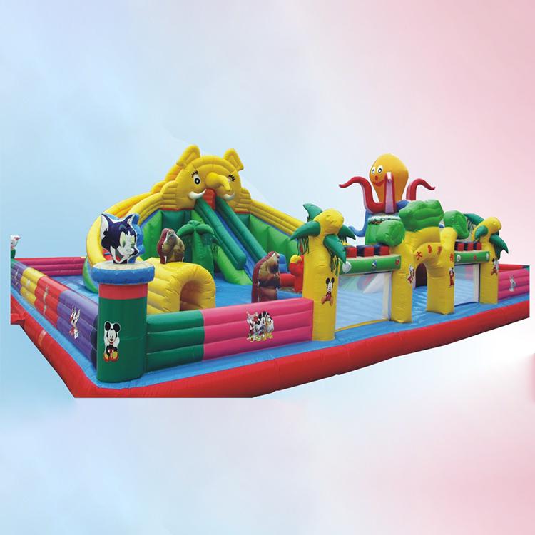 Заводская прямая надувная горка, детская горка, замок, Уличное оборудование для игровой площадки, большая надувная горка для детей