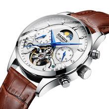 HAIQIN 2020 мужские часы, мужские часы, лучший бренд, роскошные механические часы, мужские спортивные наручные часы, мужские часы, турбийон(Китай)