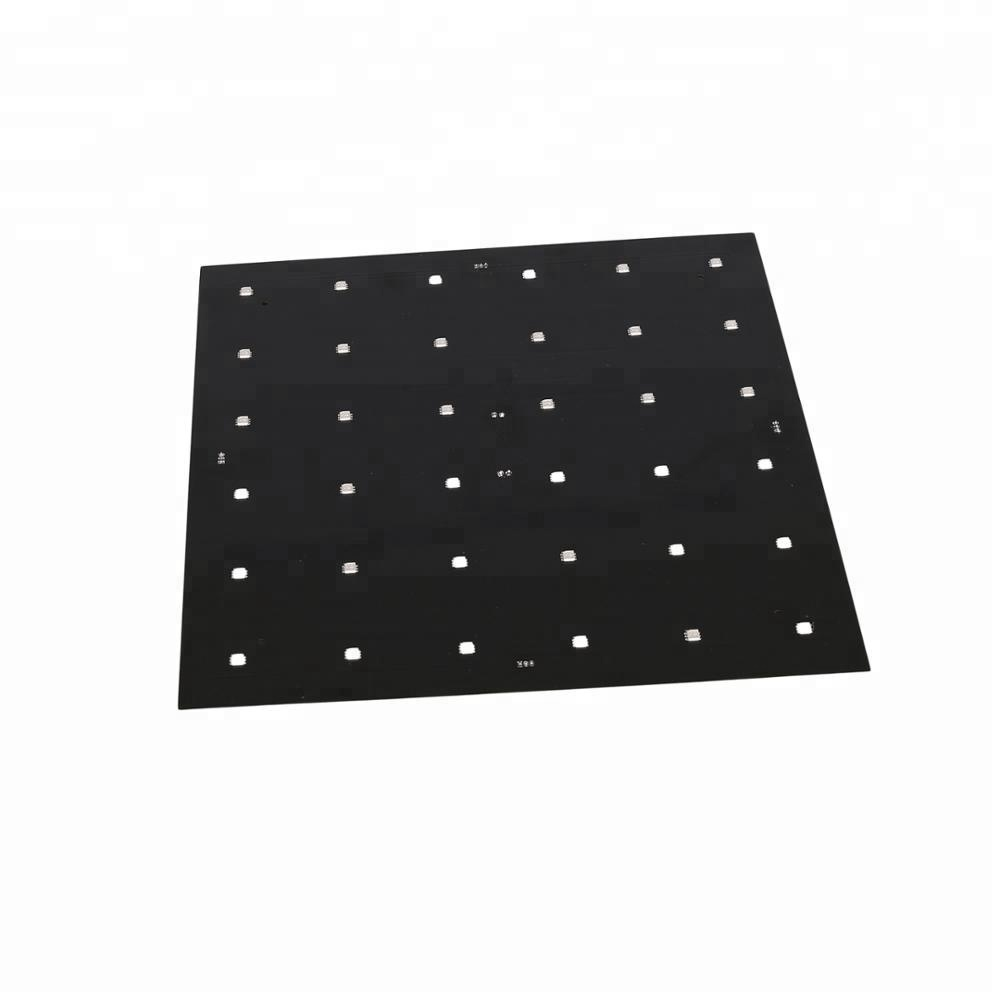 2018 New products DMX RGB led panel 600x600size LED star lights twinkle dance floor for wedding