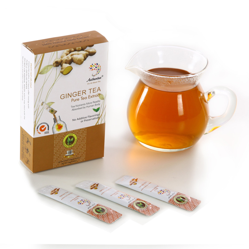 Factory Supply Private Label Ginger Powder Instant Ginger Tea Manufacturer - 4uTea | 4uTea.com