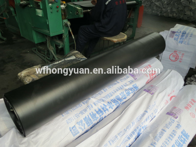 Epdm Rubber Roof Waterproofing Membrane Export To America