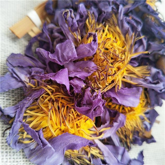 Lan lian hua Chinese new fresh dried whole blue lotus flower hot sale - 4uTea | 4uTea.com